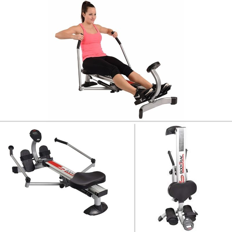 Stamina Body Trac Glider 1050 Rowing Machine Compact