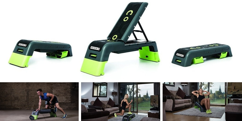The Escape Fitness Deck - Workout Bench and Fitness Station