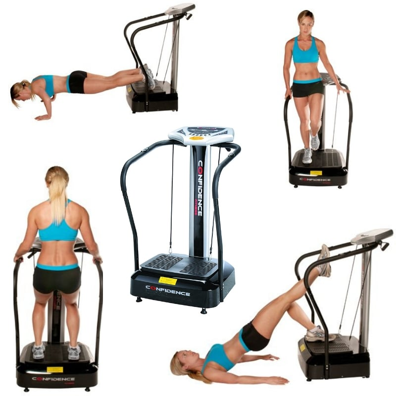 Confidence Fitness Slim Full Body Vibration Trainer - Full Body Vibration Trainer